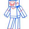 How to Draw Steve, How to Draw Minecraft Characters