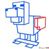 How to Draw Chicken, Minecraft