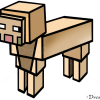 How to Draw Sheep, Minecraft