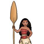 How to Draw Moana, Moana