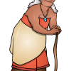 How to Draw Gramma Tala, Moana
