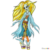 How to Draw Amfiday, Monster Dolls