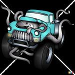How to Draw Monster Truck, Monster Trucks