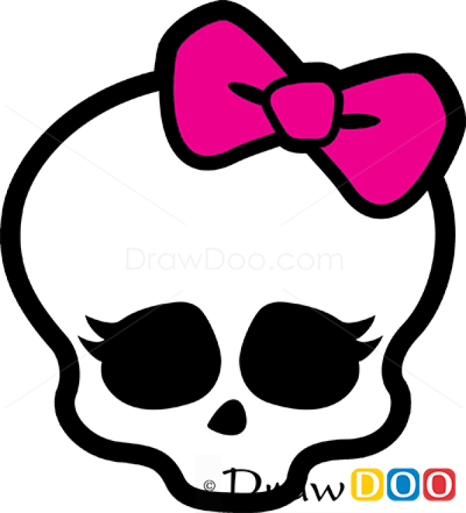 How to Draw Logo, Monster High