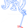 How to Draw Draculaura, Monster High