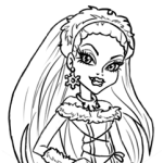 How to Draw Abbey Bominable, Monster High