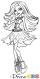 How to Draw Spectra Vondergeist, Monster High