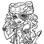 How to Draw Operetta, Monster High