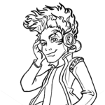 How to Draw Holt Hyde, Monster High