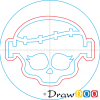 How to Draw Frankie Stein Logo, Monster High