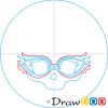 How to Draw Ghoulia Logo, Monster High