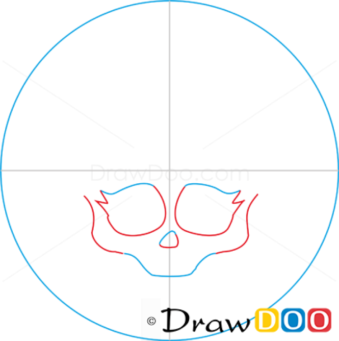 How to Draw Lagoona Logo, Monster High