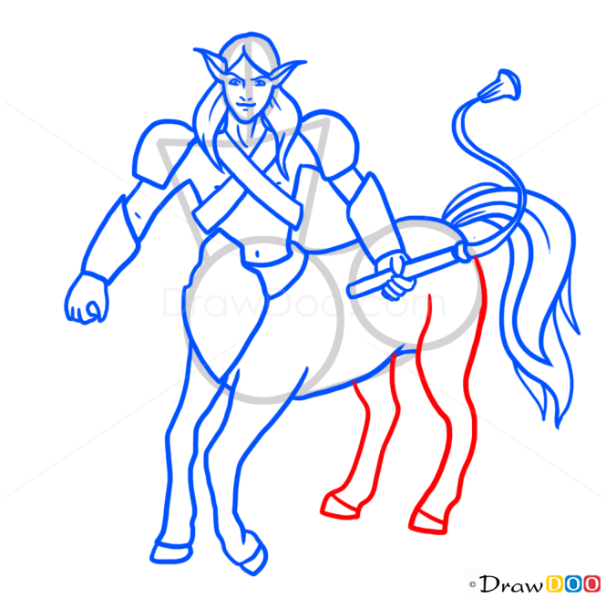 How to Draw Centaur, Monsters