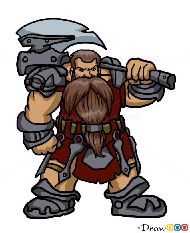 How to Draw Dwarf, Monsters