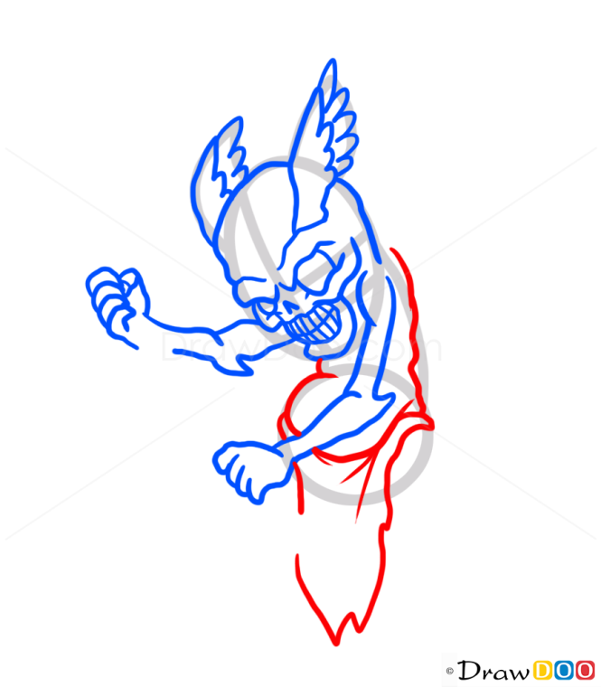 How to Draw Imp, Monsters