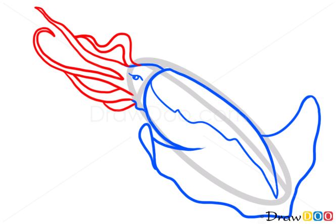 How to Draw Kraken, Monsters