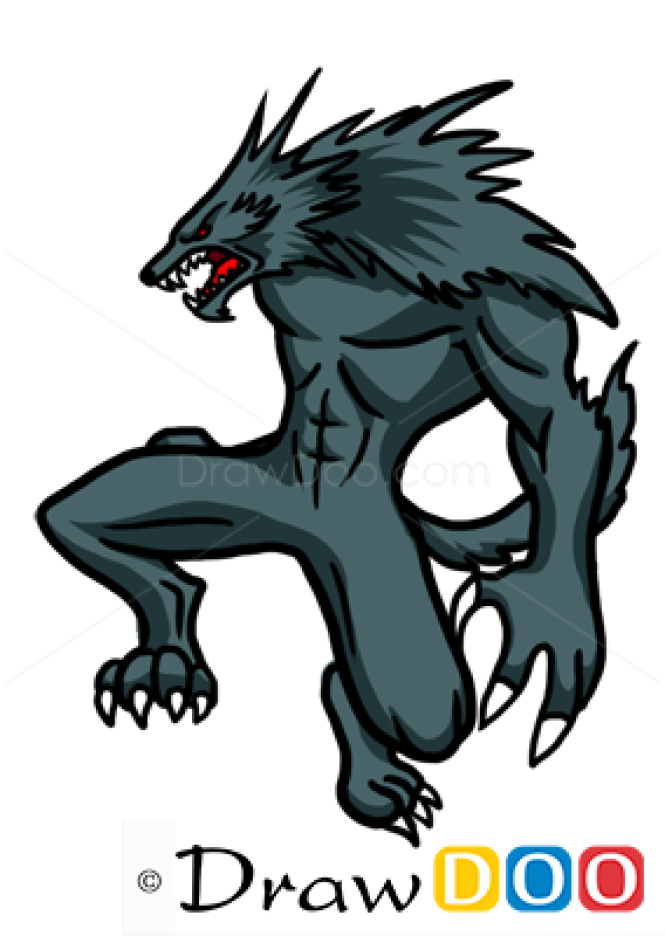 How to Draw Lycan, Monsters