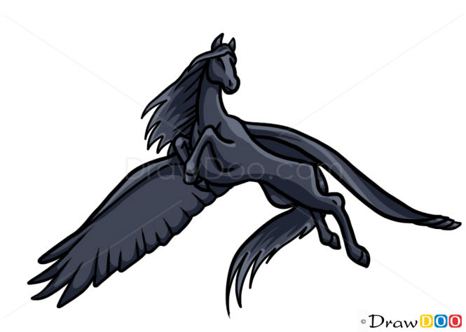 How to Draw Pegasus, Monsters