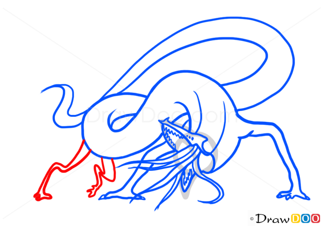 How to Draw Salamander, Monsters