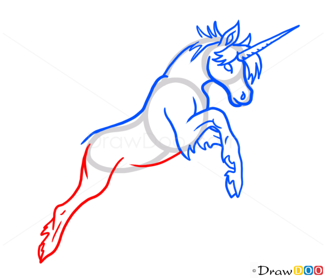 How to Draw Unicorn, Monsters