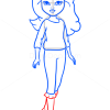 How to Draw Avery Pajama Party, Moxie Girlz