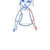 How to Draw Sophina Pajama Party, Moxie Girlz