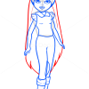 How to Draw Monet Horse Riding Club, Moxie Girlz