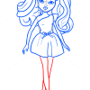 How to Draw Monet Fruity Style, Moxie Girlz