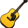 How to Draw Acoustic Guitar, Musical Instruments