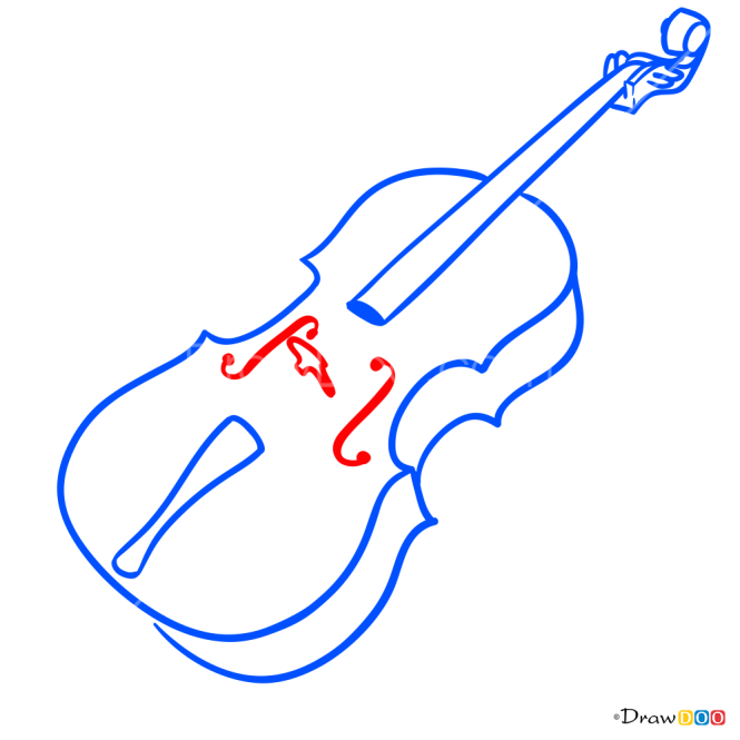 How to Draw Cello, Musical Instruments