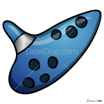 How to Draw Ocarina, Musical Instruments