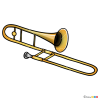 How to Draw Trombone, Musical Instruments