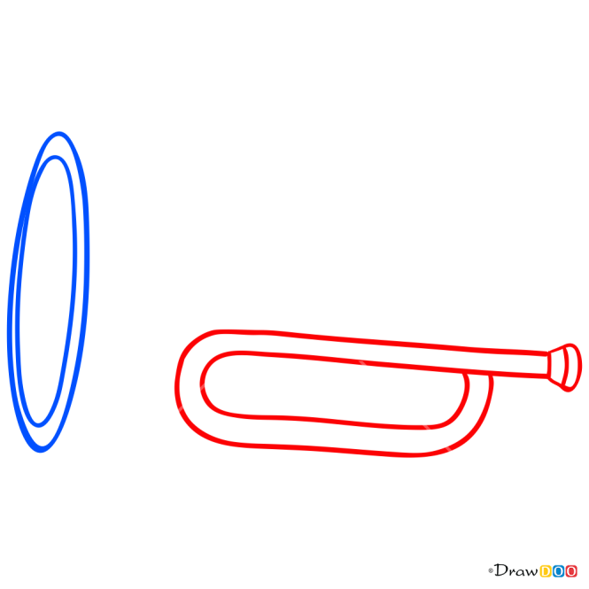 How to Draw Trumpet, Musical Instruments