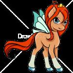 How to Draw Bloomy, My Fairy Pony