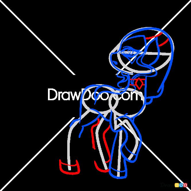 How to Draw Icey, My Fairy Pony