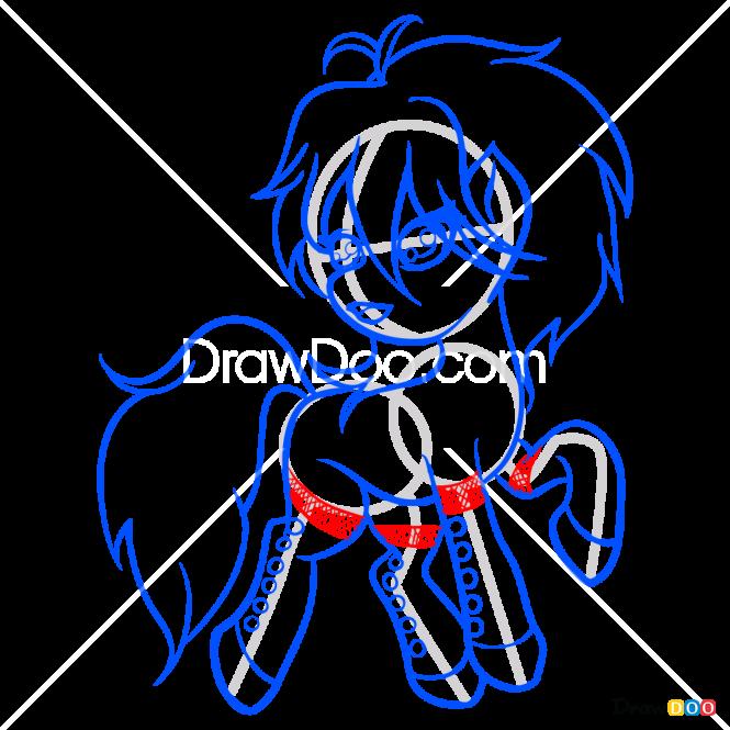 How to Draw Seline, My Fairy Pony