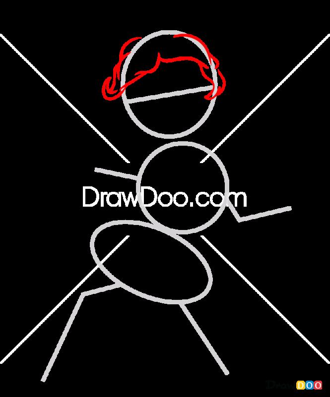 How to Draw Han Solo, My Star Wars Pony