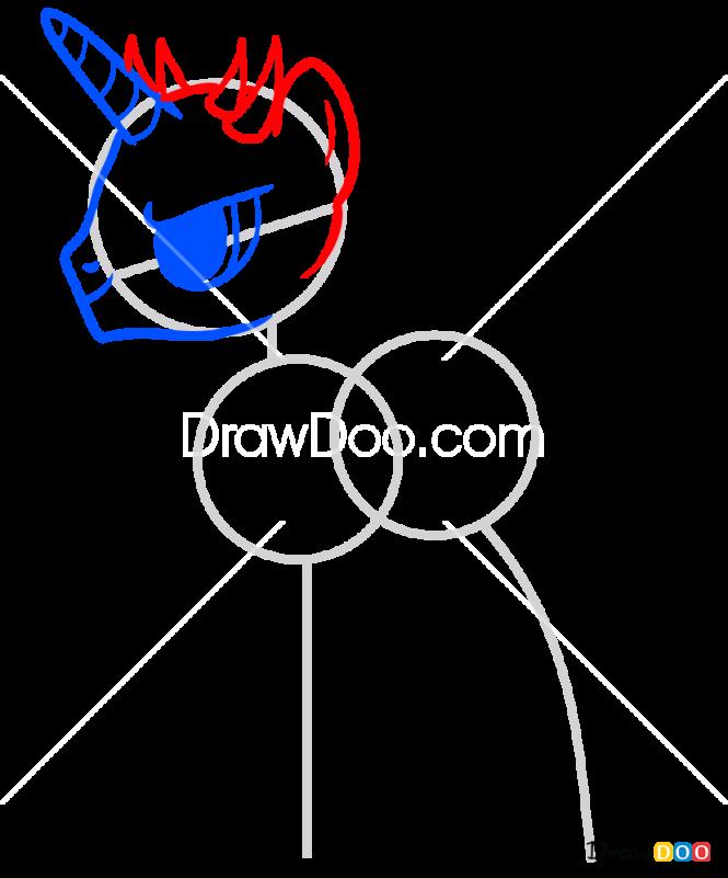 How to Draw Darth Maul, My Star Wars Pony