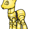 How to Draw C-3PO, My Star Wars Pony