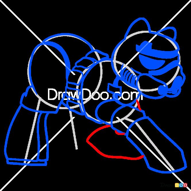 How to Draw Stormtrooper, My Star Wars Pony