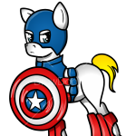 How to Draw Captain America, My Superhero Pony