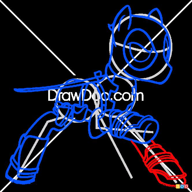 How to Draw Deadpoony, My Superhero Pony
