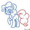 How to Draw Pinkie Pie, My Little Pony