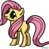 How to Draw Fluttershy, My Little Pony