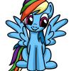 How to draw rainbow dash my little pony