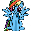 How to Draw Rainbow Dash, My Little Pony