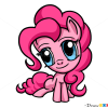 How to Draw Chibi Pinkie Pie, My Little Pony