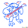 How to Draw Riff, Singing Monsters