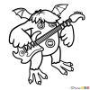 How to Draw Riff Singing Monsters