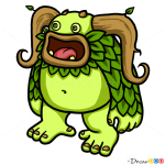How to Draw Entbrat, Singing Monsters